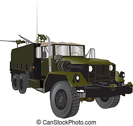 Army Truck - A Vintage Army Truck from the Vietnam War era...