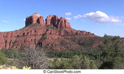 Cathedral Rock Sedona Arizona - a scenic landscape of...