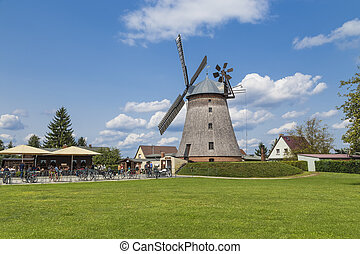 Old mill - Old windmill in a small village