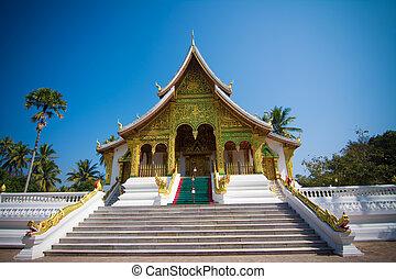 Haw Pha Bang in in Luang Prabang World Heritage, Laos
