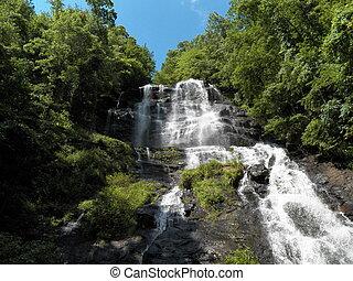 Amicalola Falls, Georgia - Summer - Amicalola Falls State...