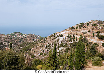 Greek mainland - Landscape from Greek mainland near the west...