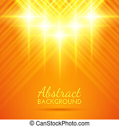 Abstract lights background Vector illustration for your...