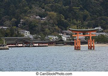Approaching Miyajima