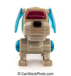robot, cane