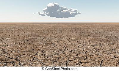 Arid Lands - Desert Scene