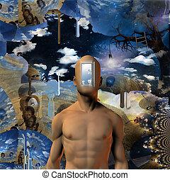 Doors of perception - Door opened to mans mind