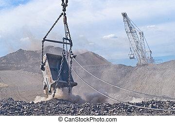 Carvão, mina