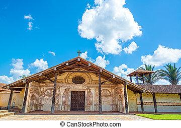 Church in San Javier, Bolivia
