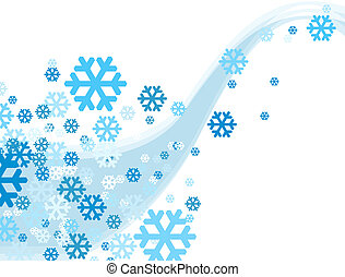 Christmas Celebration Snowflake falling illustration...