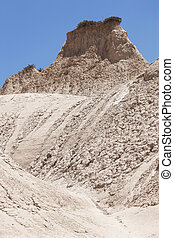 Komolithi geological phenomenon at Potamida in Crete. Greece