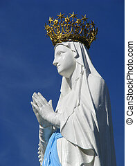 Our Lady of Lourdes - The beloved nd crowned statue of Our...