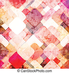 scintillate - abstract background with colorful geometric...