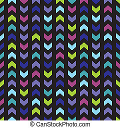 Tile chevron vector pattern - Chevron seamless vector dark...