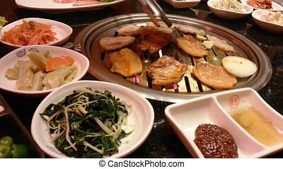 korean barbecue traditional meal
