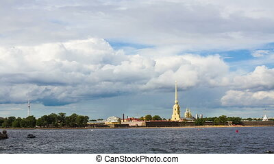 Saint-Petersburg, Peter and Paul fo - St.Petersburg , Russia...