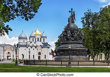 Monument to the Millennium of the Russian Statehood, Veliky...
