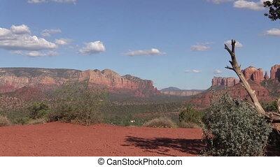 Sedona Arizona Landscape - the scenic red rock landscape of...