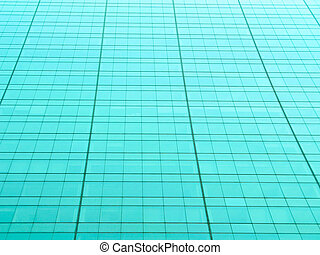Metallic teal color grid - Metallic teal tinted grid from a...