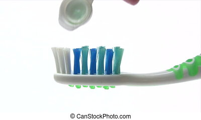 Toothbrush - Canon HV30. HD 16:9 1920 x 1080 @ 25.00 fps....