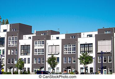 New serial houses in Berlin