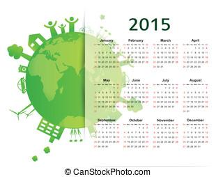 Vector - Calendar 2015 - calendar 2015