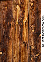 Weathered Wooden Grain - Weathered Wood with Heavy Grain