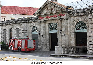 Matanzas Fire Station - Departments of Fire Fighters in...