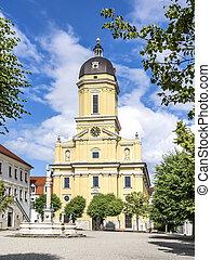 Hofkirche in Neuburg, Germany