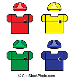 Beautiful Workwear Vector Illusatration EPS10