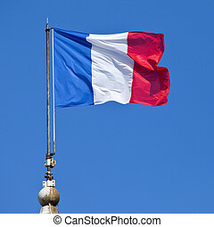 French Flag - The French flag.