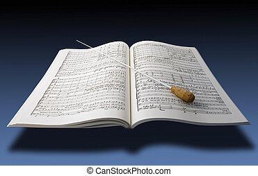 音樂, partiture