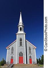 church - oldfashion grey church