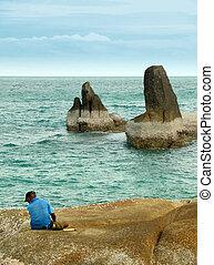 Rocky coast, Ko Samui