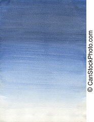 Watercolor Texture - Traditional painting watercolor on...
