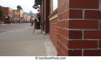 Main street in Deadwood, SD - Main street in Deadwood...