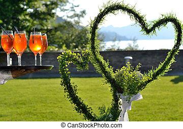 Blumenherzen - Hochzeitssymbol - Flowers heart - wedding...