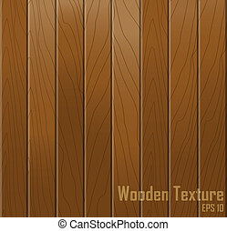 Wooden texture. Vector background.