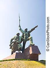 Monument in Sevastopol - Monument to the soldier and the...