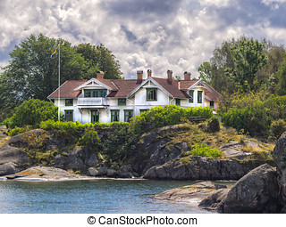 Holiday home in the archipelago near Lysekil, Sweden -...