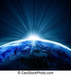 地球, 光景