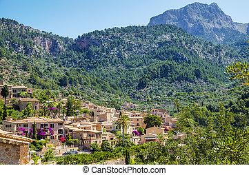 Fornalutx village on Majorca - Fornalutx, a mountainous...