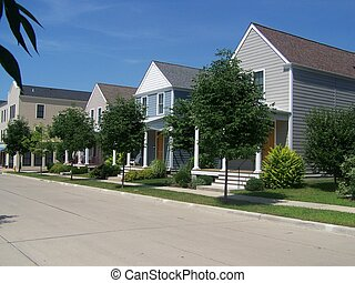 Row Homes 1 - New Town Row Homes