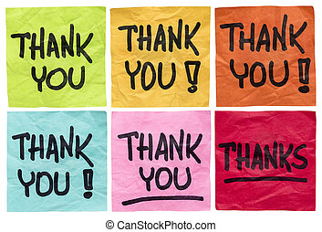 thank you and thanks notes - thank you and thanks - a set of...