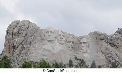 Mount Rushmore Monument, USA - Mount Rushmore Monument,...