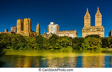 Buildings in the Central Park West Historic District and The...
