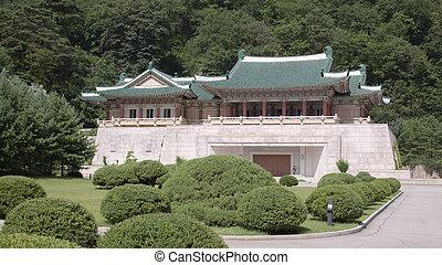 Exhibition of friendship between peoples. North Korea