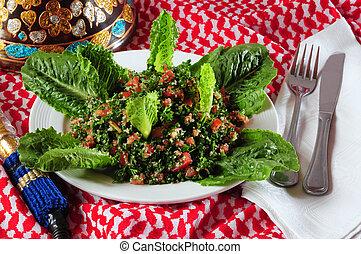 Tabbouleh - Lebanese typical appetizer Tabbouleh