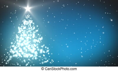 Christmas Tree animation - 3d Christmas Tree animation