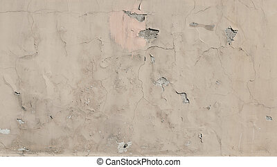 Texture of wall with gray stucco